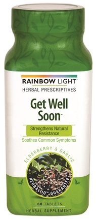 DROPPED: Rainbow Light - Get Well Soon - 45 Tablets