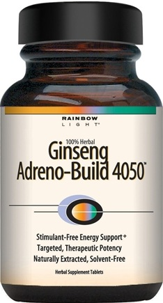 DROPPED: Rainbow Light - Ginseng Adreno-Build 4050 - 60 Tablets