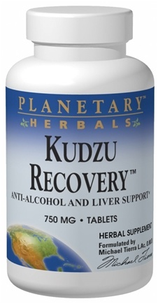 DROPPED: Planetary Herbals - Kudzu Recovery 750 mg. - 120 Tablets CLEARANCE PRICED
