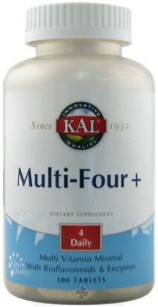DROPPED: Kal - Multi-Four - 100 Tablets