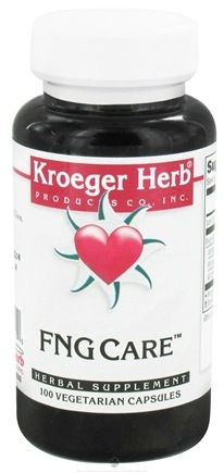 DROPPED: Kroeger Herbs - Herbal Combination FNG Care - 100 Vegetarian Capsules Formerly Foon Goos  CLEARANCE PRICED