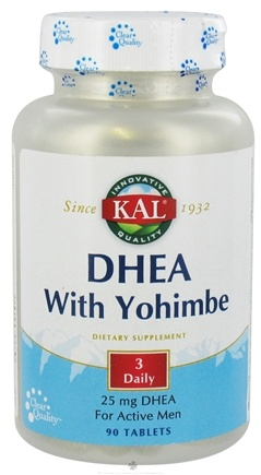 DROPPED: Kal - DHEA with Yohimbe - 90 Tablets CLEARANCE PRICED