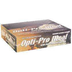 DROPPED: Optimum Nutrition - Opti-Pro Meal High Protein Nutrition Bar Coconut Almond