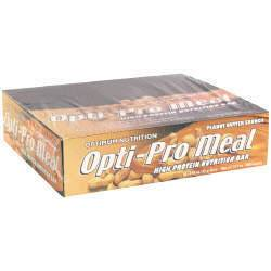 DROPPED: Optimum Nutrition - Opti-Pro Meal High Protein Nutrition Bar Peanut Butter