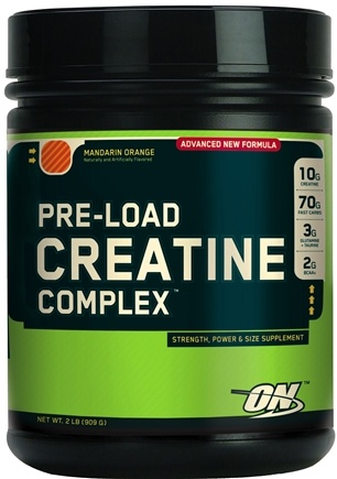 DROPPED: Optimum Nutrition - Pre-Load Creatine Complex Orange - 2 lbs.