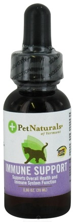 DROPPED: Pet Naturals of Vermont - Immune Support for Cats - 0.96 oz.