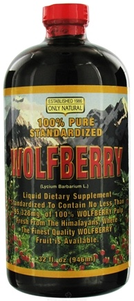 DROPPED: Only Natural - Wolfberry Liquid - 32 oz.