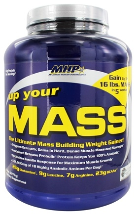 MHP - Up Your MASS Cookies N' Cream - 5 lbs.
