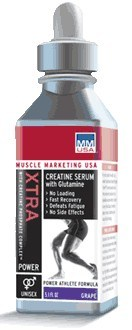 DROPPED: Muscle Marketing USA, Inc - Xtra Creatine Serum with Glutamine Grape - 5.1 oz.