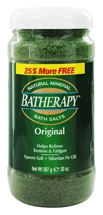 DROPPED: Queen Helene - Batherapy Mineral Bath Salts Original - 20 oz.
