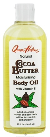 DROPPED: Queen Helene - Cocoa Butter Body Oil - 10 oz. CLEARANCED PRICED