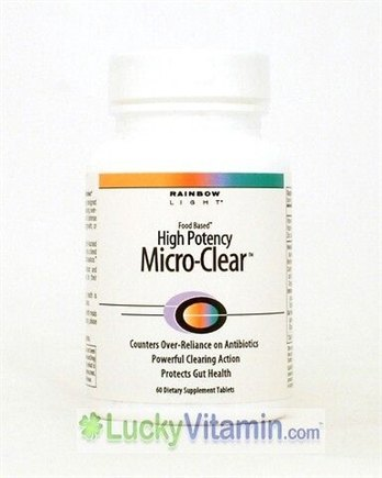 DROPPED: Rainbow Light - High Potency Micro-Clear - 60 Tablets