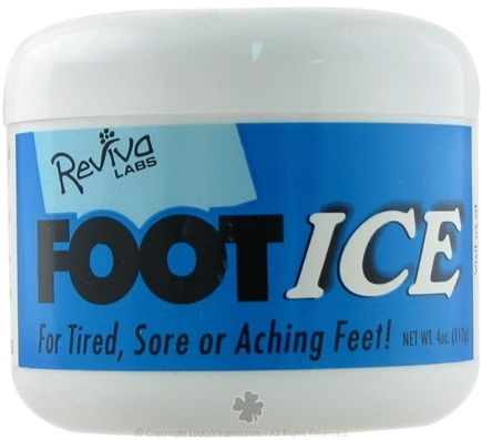 DROPPED: Reviva Labs - Foot Ice - 4 oz.