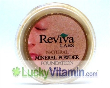 DROPPED: Reviva Labs - Foundation Powder Sand - 5 Grams
