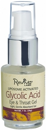 DROPPED: Reviva Labs - Glycolic Acid Eye & Throat Gel - 1 oz.