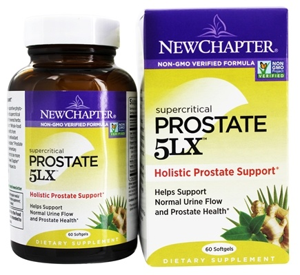 DROPPED: New Chapter - Prostate 5LX - 60 Softgels