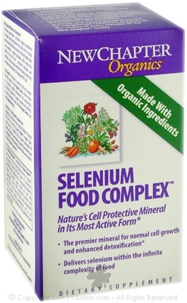 DROPPED: New Chapter - Selenium Food Complex - 30 Tablets