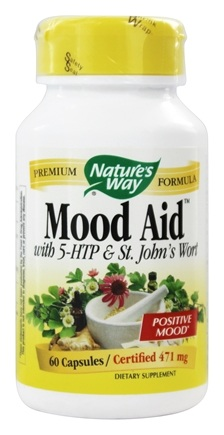 DROPPED: Nature's Way - Mood Aid 471 mg. - 60 Capsules