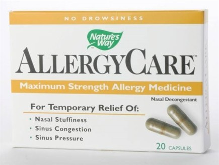 DROPPED: Nature's Way - AllergyCare - 20 Capsules