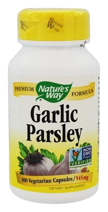 Nature's Way - Garlic & Parsley 545 mg. - 100 Capsules