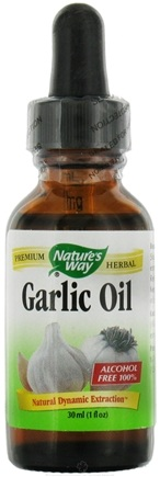 DROPPED: Nature's Way - Garlic Oil (in olive oil) - 1 oz.