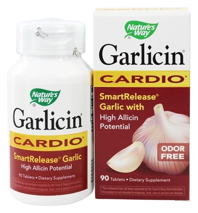 Nature's Way - Garlicin Cardio - 90 Tablets
