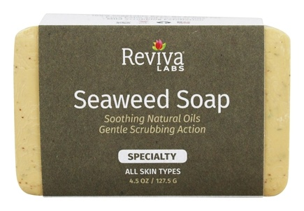 Reviva Labs - Seaweed Soap Bar - 4.5 oz.