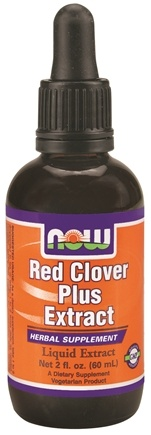 DROPPED: NOW Foods - Red Clover Plus Extract - 2 oz.