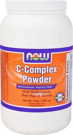 DROPPED: NOW Foods - Vitamin C-Complex Powder - 3 lbs.