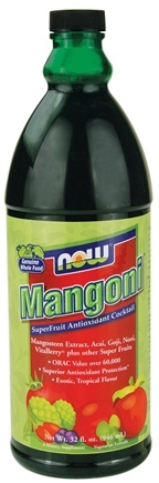 DROPPED: NOW Foods - Mangoni Superfruit Antioxidant Cocktail - 32 oz. CLEARANCED PRICED