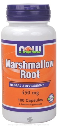 DROPPED: NOW Foods - Marshmallow Root 450 mg. - 100 Capsules