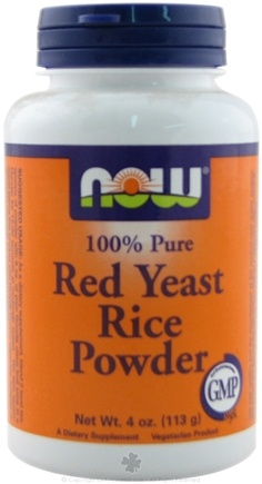 DROPPED: NOW Foods - Red Yeast Rice Powder - 4 oz.