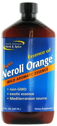 DROPPED: North American Herb & Spice - Essence of Pure Neroli Orange - 12 oz. CLEARANCE PRICED
