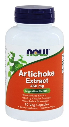 NOW Foods - Artichoke Extract 450 mg. - 90 Vegetarian Capsules