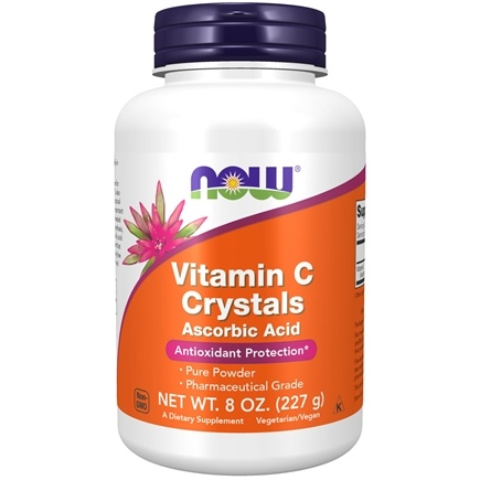 DROPPED: NOW Foods - Vitamin C Crystals - 8 oz.