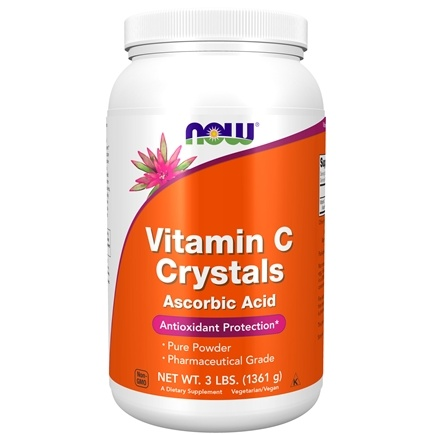 NOW Foods - Vitamin C Crystals - 3 lbs.