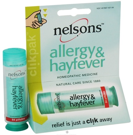 DROPPED: Nelsons - Allergy & Hayfever ClikPak - 84 Pillule(s) CLEARANCE PRICED