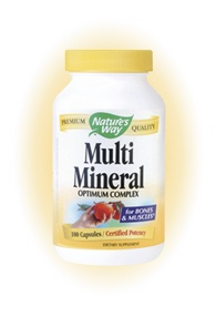 DROPPED: Nature's Way - Multi-Mineral Complex - 100 Capsules