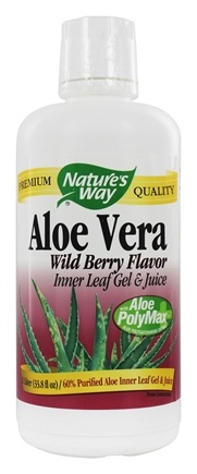 Nature's Way - Aloe Vera Gel & Juice Berry - 1 Liter
