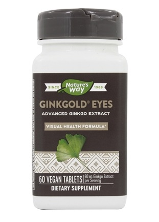 Nature's Way - Ginkgold Eyes - 60 Tablets
