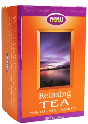 DROPPED: NOW Foods - Relaxing Tea - 30 Tea Bags