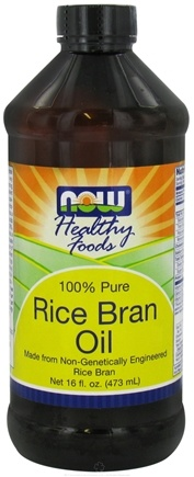 DROPPED: NOW Foods - Rice Bran Oil - 100% Pure - 16 oz.