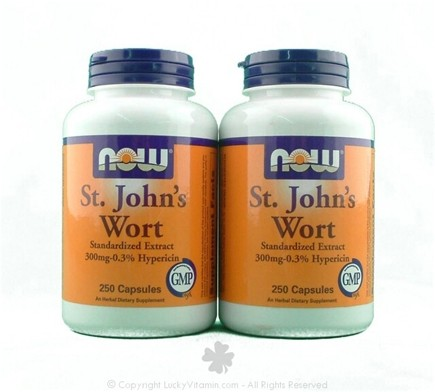DROPPED: NOW Foods - St. John's Wort Twin Pack Special 300 mg. - 200 Capsules