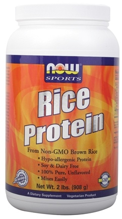 DROPPED: NOW Foods - Rice Protein Powder - 2 lbs.