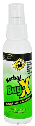 DROPPED: North American Herb & Spice - Herbal Bug-X - 4 oz. CLEARANCE PRICED