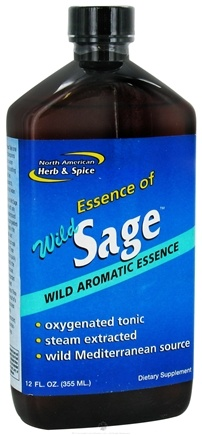 DROPPED: North American Herb & Spice - Juice of Sage - 12 oz. CLEARANCE PRICED