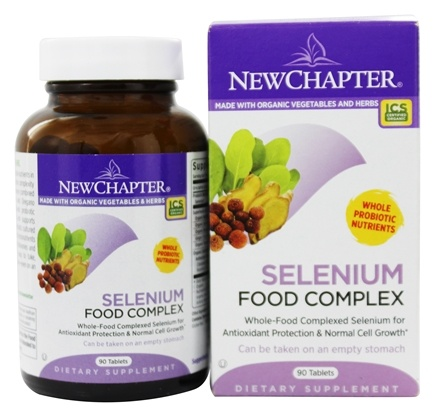 DROPPED: New Chapter - Selenium Food Complex - 90 Tablets