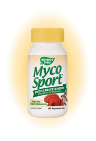 DROPPED: Nature's Way - MycoSport - 60 Vegetarian Capsules