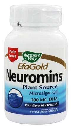 Nature's Way - Neuromins DHA 100 mg. - 60 Vegetarian Softgels