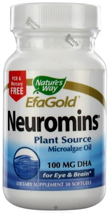 DROPPED: Nature's Way - Neuromins DHA 100 mg. - 30 Softgels